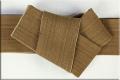 角帯 諸紙布 和紙100% 柿渋染 泥媒染 黄茶色