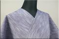 遠州木綿 木綿着物 オーダーお仕立て付き 無地 紺 ◆男女兼用◆ .