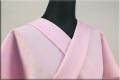 ウール着物 オーダーお仕立て付き 六〇双糸 刺し子 暖かい普段着きもの ピンク ◆女性にオススメ◆