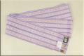 首里 花織 半幅帯 沖縄 綿 薄紫