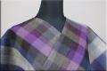 夏着物 小千谷ちぢみ 楊柳 オーダー仕立て付き 杉山織物 チェック カラフル ◆男女兼用◆