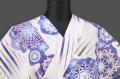 MoMo Japan 綺羅雲 浴衣(ゆかた) 浜松注染 オーダー仕立て付き サファイア ◆女性にオススメ◆