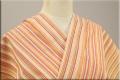 遠州木綿 木綿着物 オーダーお仕立て付き 変わり縞 白州HAKUSHU ◆男女兼用◆