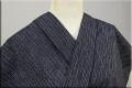 遠州木綿 木綿着物 オーダーお仕立て付き 絣 紺 以i ◆男女兼用◆
