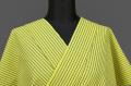 KIPPE(きっぺ) よねざわもめん オーダーお仕立て付き 黄黒縞 ◆男女兼用◆