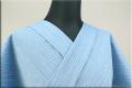 阿波しじら織 木綿きもの オーダーお仕立付き 洗える普段着着物 軽くて涼しい!  H6 Sサイズから身長170cmトールサイズ ◆男女兼用◆
