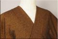 三河木綿 オーダーお仕立付き 洗える普段着着物  厚地 No.13 黄赤系 ◆男女兼用◆