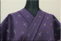Kimono Factory nono 木綿着物 オーダーお仕立て付き GRITTER(グリッター)小華 紫