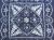 藍染テーブルクロス・90cm