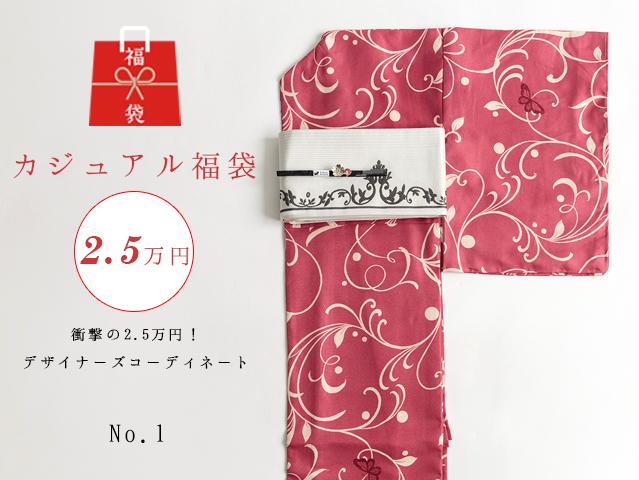 【福袋NO・1】衝撃の2.5万円!デザイナーズコーディネート5点セットー蝶々の夢