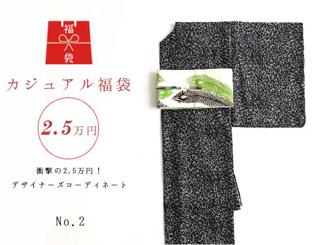 【福袋NO・2】衝撃の2.5万円!デザイナーズコーディネート5点セットーアニマルに夢中