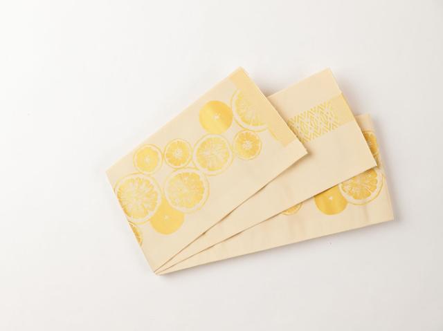 【博多織】リバーシブル半幅帯ーORANGE(正絹100%)<メーカー直送品>