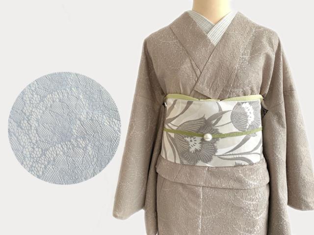 ワンランクUPなおめかしの日にーDRESSY着物- NUDY(2色)