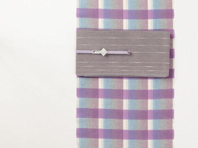 【遠州木綿】浜松注染-ゆるりふわり縞模様(水通し込み)