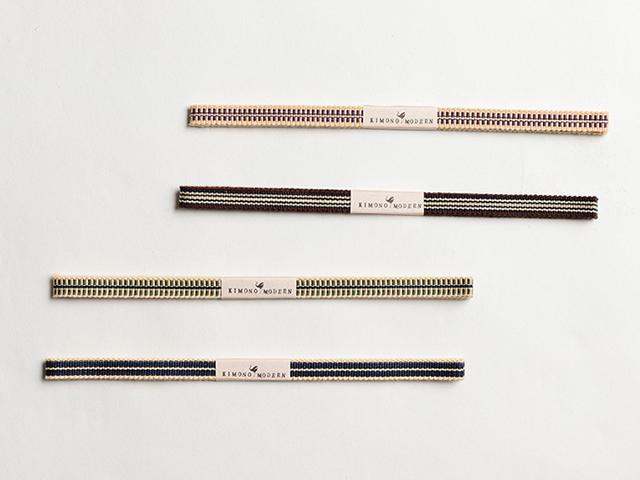 【木綿の帯締め】プチプラで楽しむ、普段着の帯締め-humming