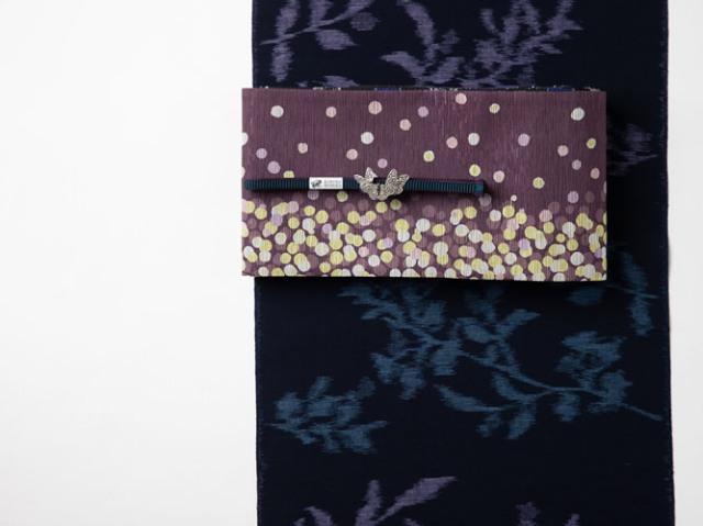 【久留米絣】現代的な色柄、昔ながらの伝統ーフリージア