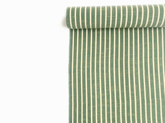 【久留米絣】-現代的な色柄、昔ながらの伝統-GREEN×GREEN