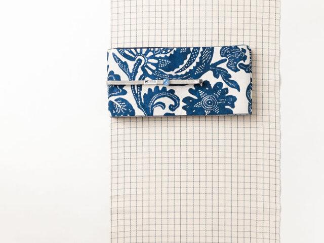 【久留米絣】現代的な色柄、昔ながらの伝統-方眼紙(綿100%・反/誂)