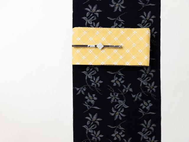 【久留米絣】 現代的な色柄、昔ながらの伝統ーLOVE GREEN