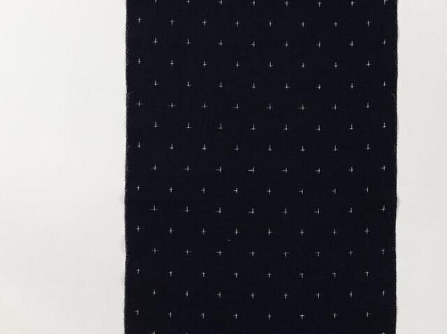 【久留米絣】現代的な色柄、昔ながらの伝統ー天の川(綿100%)