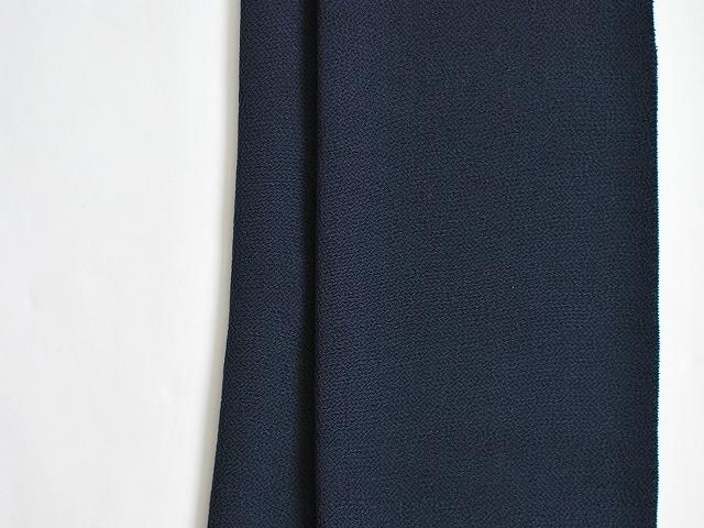 <正絹ちりめん帯揚げ>NIPPON COLORS-紺藍
