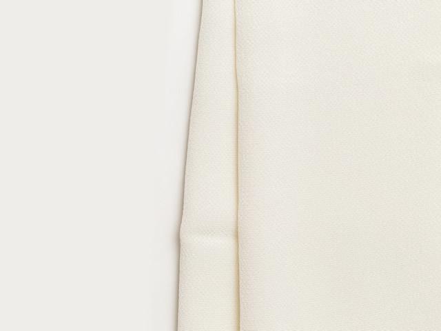 【正絹帯揚げ】EARTH COLORS-白雪