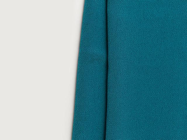 【正絹ちりめん帯揚げ】CANDY DROPS-ターコイズ