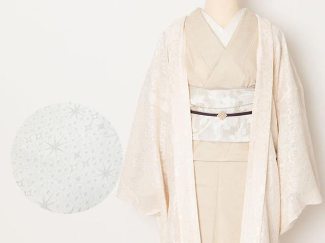 【+LUXE】オリジナルお召し着物ー祈り(数量限定・受注生産品・反物)