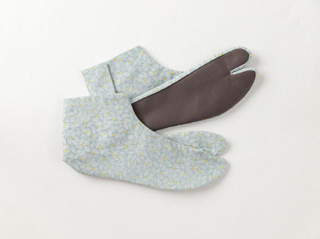【カラフル底のおしゃれ足袋】ゑびす足袋xKIMONO MODERN-北欧(綿100%・4サイズ)
