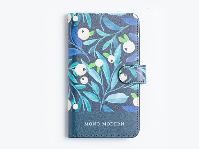 【手帳型マルチスマホケース】MONO MODERN-TREES-森の向こうで