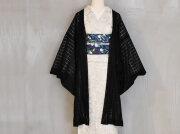 【レースの薄羽織】coolな淑女のためのチュールレースーマスカレード(2色)