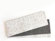 【リバーシブル半幅帯】-アラベスク(綿100%・390cm)