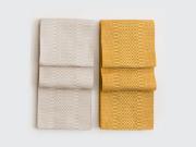 【半幅帯】シンプルな無地の柔らか半幅帯-CROSS OVER(2色)