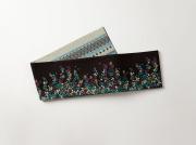 【召しませ花】リバーシブル半幅帯ー小花ドロップス