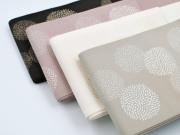 【博多織半幅帯】-小菊(4色・正絹100%・メーカー直送品[利休白茶を除く] )