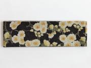 【召しませ花】リバーシブル半幅帯ー水仙