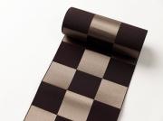 【博多織】 半幅帯 - NIPPONIA(絹100%)