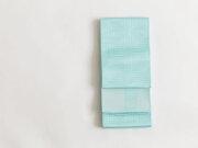 【博多織】リバーシブル半幅帯ー雷紋(6色・正絹100%)