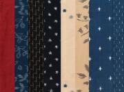 <生地サンプル>ワンピースときどき、着物ー対象商品久留米絣テキスタイル(送料無料)