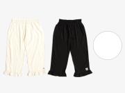 <ご予約割> 腰履きタイプ 脱いでもかわいい、赤ちゃんWガーゼの大人のステテコ(3色・M / L)9月上旬お届け