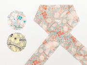 【木綿の半衿】レトロPOPサイケデリック(3色)