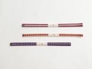 【赤系】プチプラでコーデ広がる、木綿の帯締め