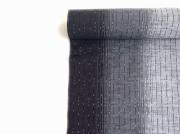 <春のキモノ祭り 3000円OFF>久留米絣-現代的な色柄、昔ながらの伝統-Black Rain