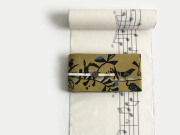 <春のキモノ祭り 3000円OFF>久留米絣-現代的な色柄、昔ながらの伝統-In My Life-white