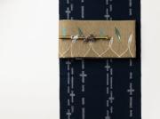 【久留米絣】現代的な色柄、昔ながらの伝統ー十字クロス