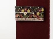 【久留米絣】現代的な色柄、昔ながらの伝統-恋紅koi-kurenai(無地)