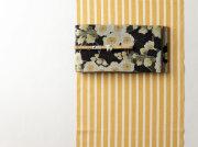 【久留米絣】-現代的な色柄、昔ながらの伝統-LEMON(綿100%・反/誂)