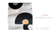 【+LUXE】八寸名古屋帯-アールデコ・レコード(お仕立て加工無料)