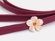 【数suu】帯留め-馴染み桜