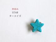 【帯留め】STAR-ターコイズ